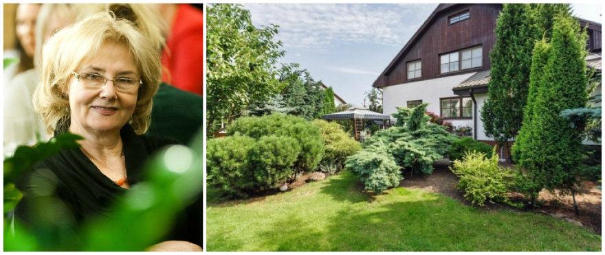 Sabina Repčenkienė parduoda savo namą