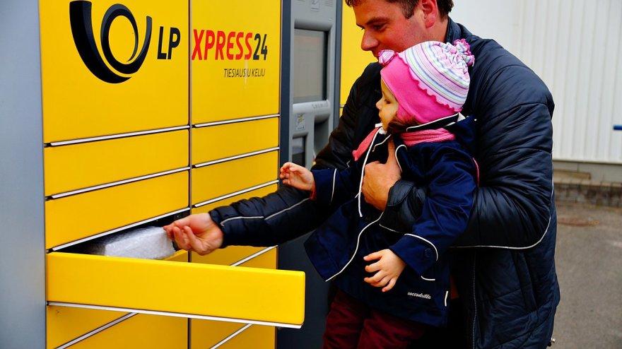 LP express terminalas