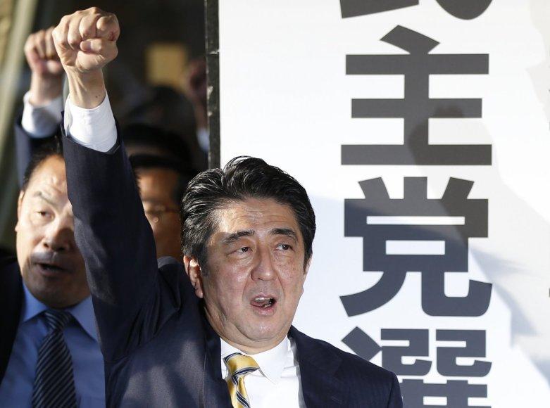 Japonijos premjeras Shinzo Abe