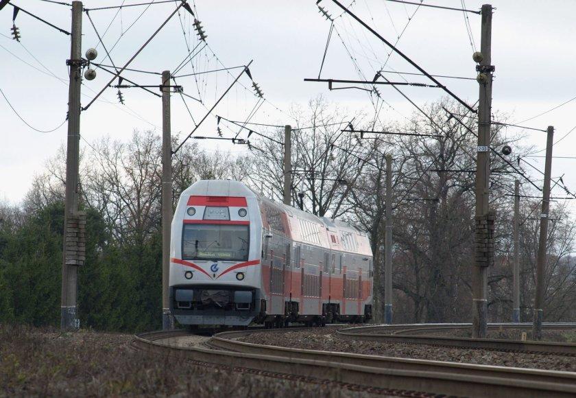 Dviaukštis traukinys