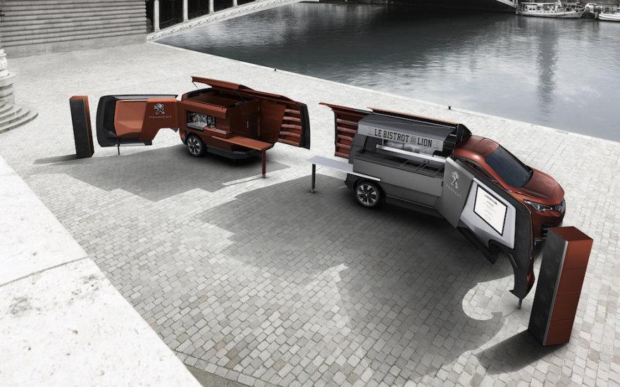 """Peugeot Foodtruck"" konceptas"
