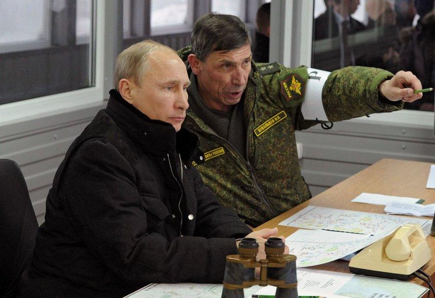 Vladimiras Putinas ir Ivanas Buvaltsevas