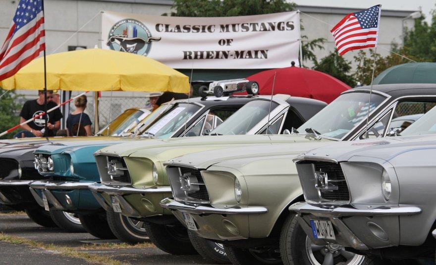 """""""Ford Mustang"""" gerbėjų susitikimas"""