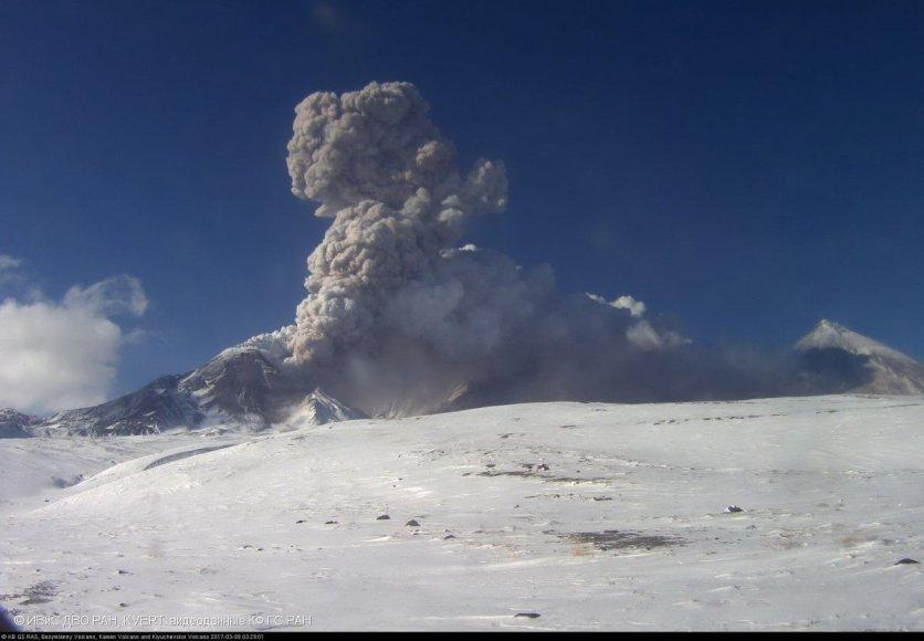 Ugnikalnis Kamčiatkoje