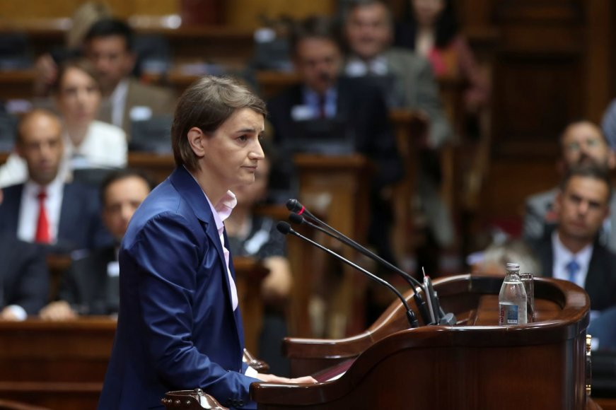 Naujoji Serbijos ministrė pirmininkė – Ana Brnabič