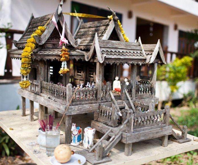 Senovinis dvasių namelis