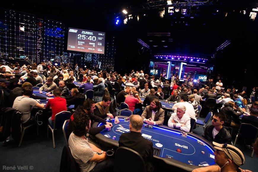 Prancūzijos pokerio serijos (FPS) Monako turnyro akimirka