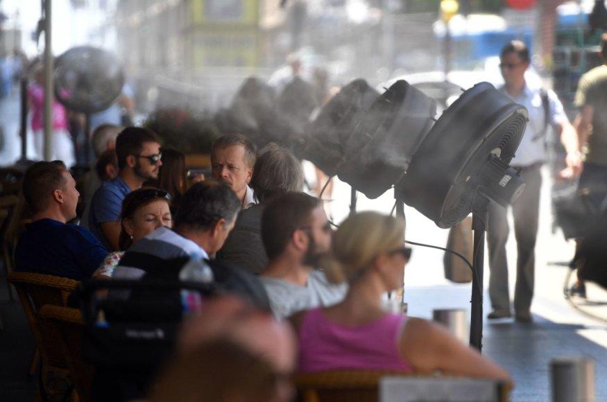Karščio banga Ispanijoje