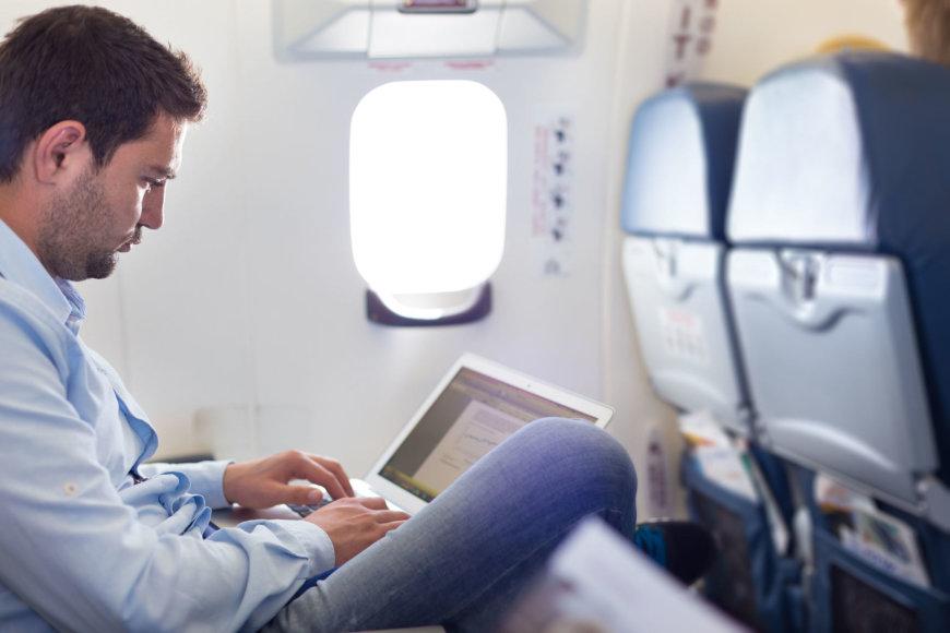 Kompiuteris lėktuve