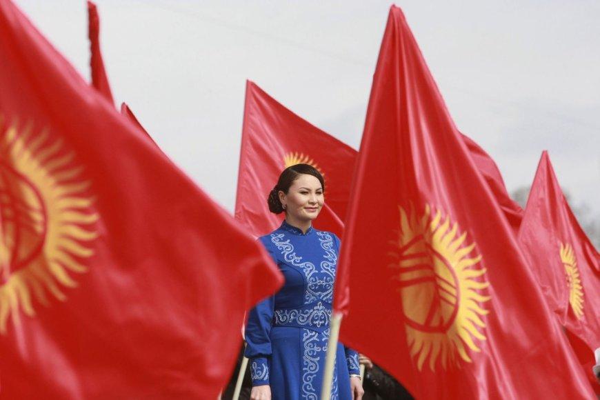 Kirgizė šalies nacionalinės šventės minėjime