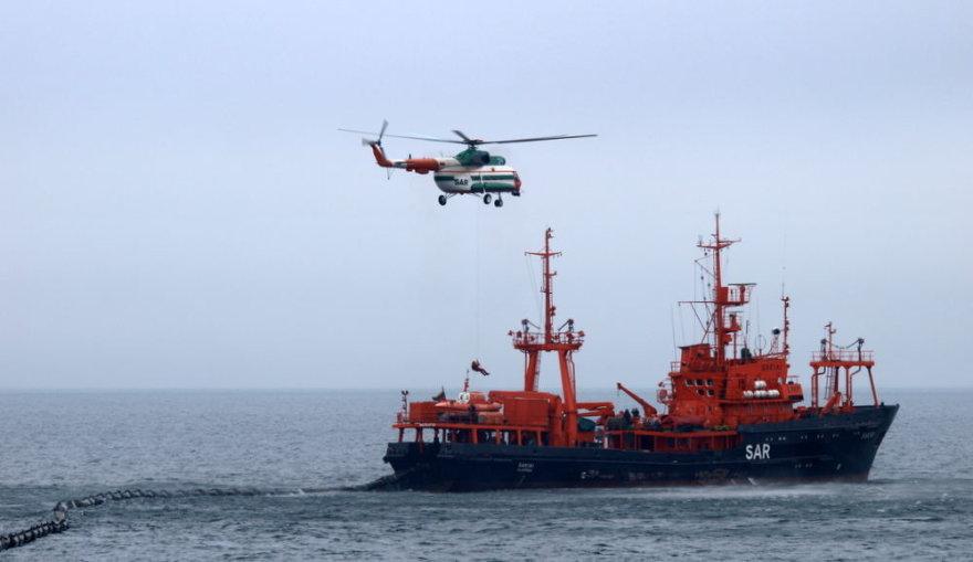 """Karinių jūrų pajėgų Paieškos ir gelbėjimo bei taršos likvidavimo laivas """"Šakiai"""""""