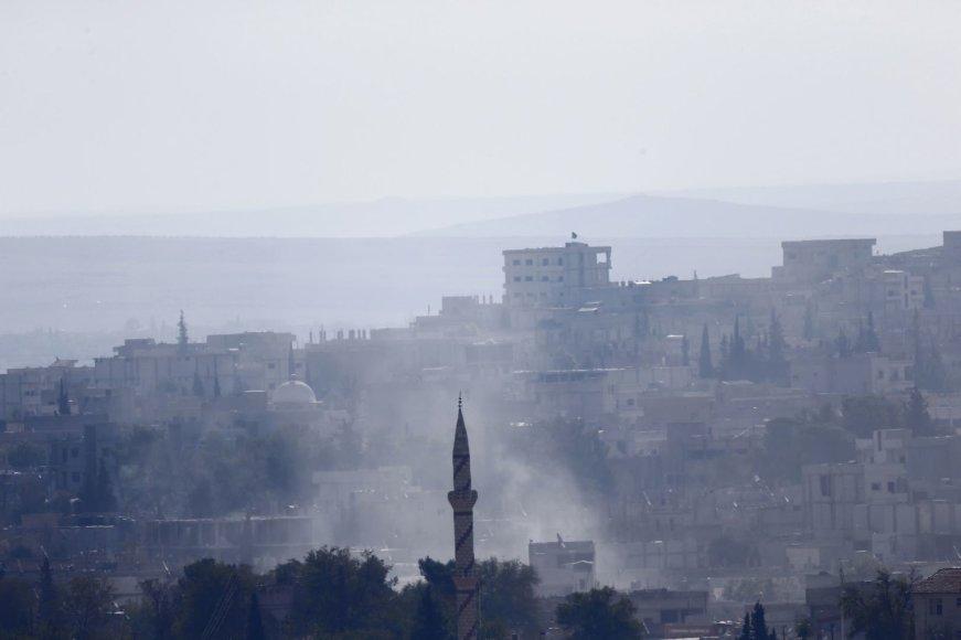 Sirijos miestas Kobanė