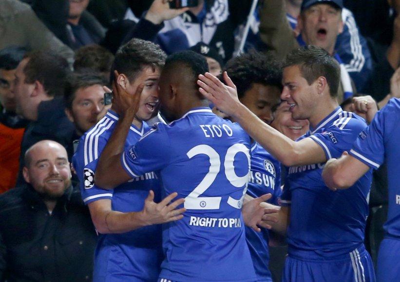 """""""Chelsea"""" džiaugsmas"""