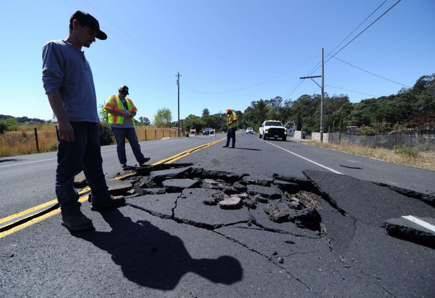 Žemės drebėjimas Kalifornijoje