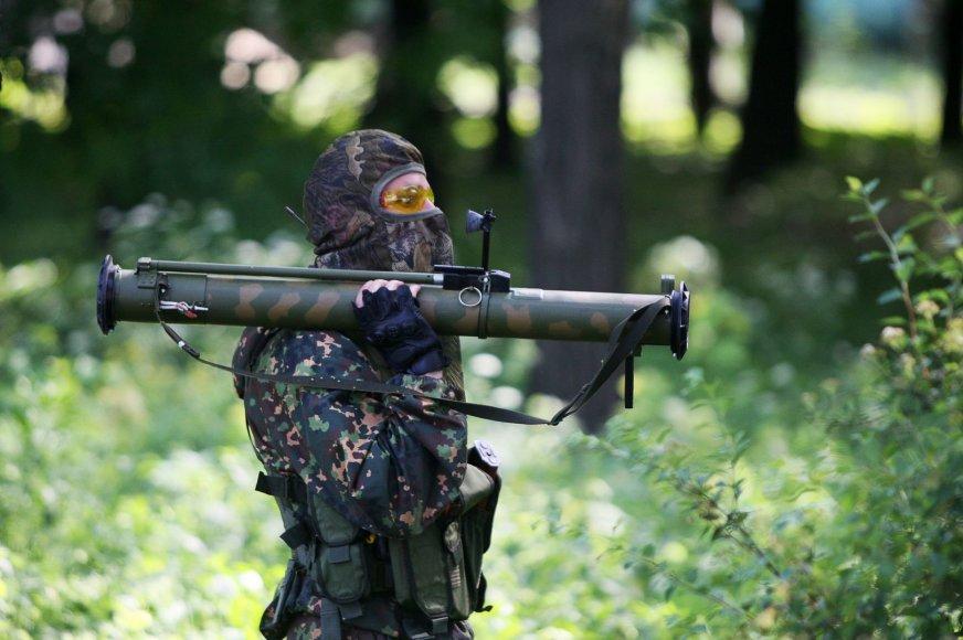 Prorusiškas teroristas Donecke