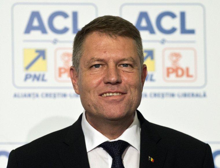 Naujai išrinktas Rumunijos prezidentas Klausas Iohannisas