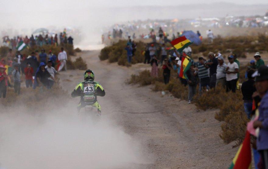 Penktas Dakaro ralio etapas: lenktynininkai finišavo Bolivijoje