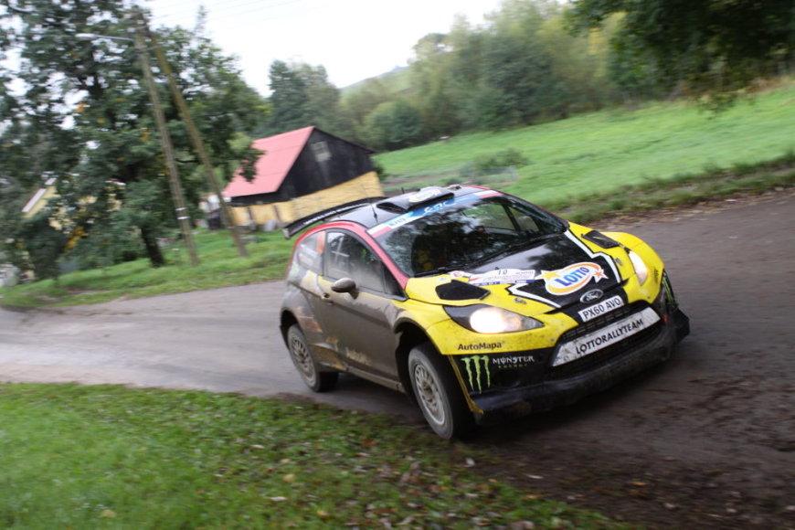 """""""Lotos Rally Poland"""" sekmadienis"""