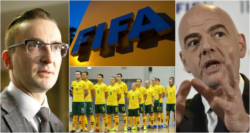 Nekantriai laukę žinios iš FIFA, Lietuvos atstovai turės dar palaukti