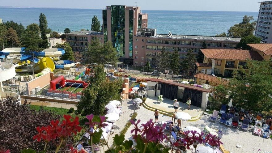 """4 žvaigždučių viešbutis """"Golden Beach"""", kuriame gyveno Dainiaus šeima"""