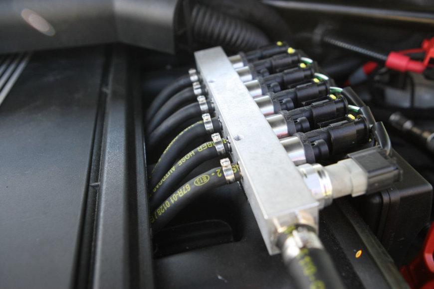 Dujų įrangos purkštukai