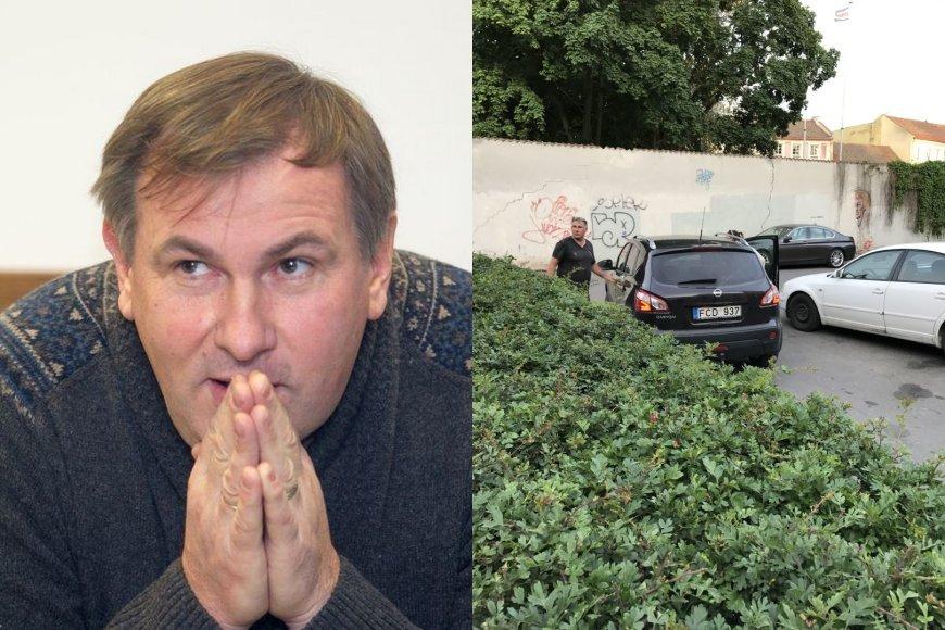 Vilniuje iš eismo įvykio pasišalino žurnalistas Virginijus Gaivenis