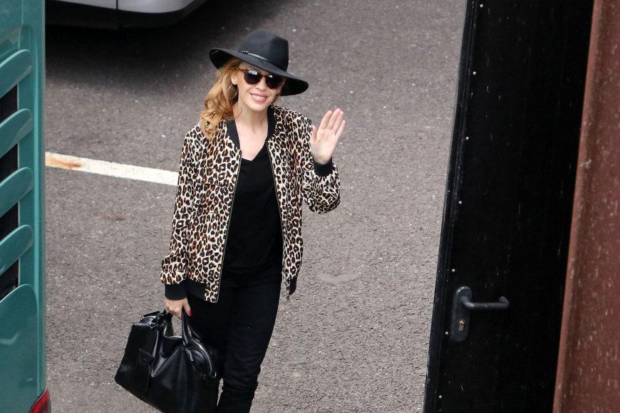 Kylie Minogue atvykimas
