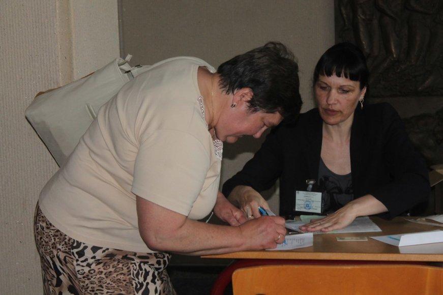 Balsavimas Panevėžio miesto savivaldybėje