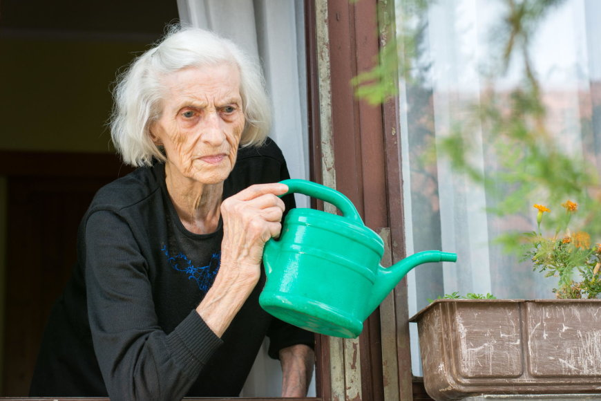 Sena moteris
