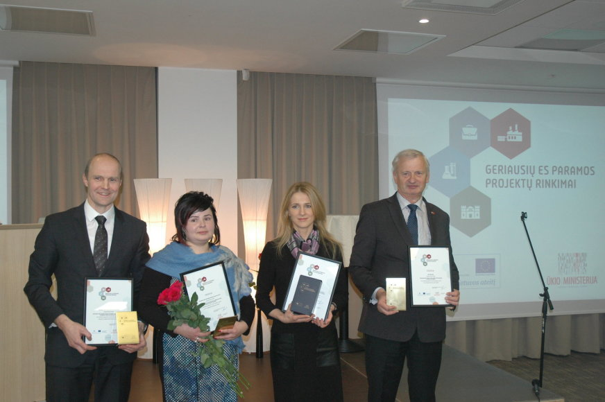 Apdovanoti geriausieji Marijampolės regione