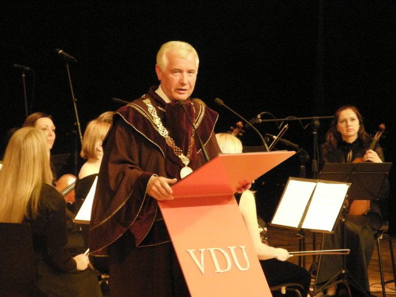 VDU rektorius Zigmas Lydeka