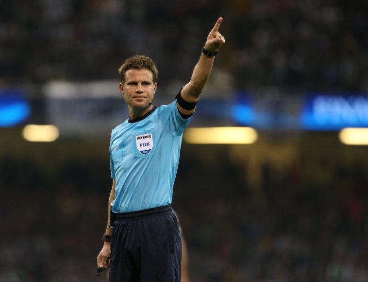 Futbolo teisėjas Felixas Brychas