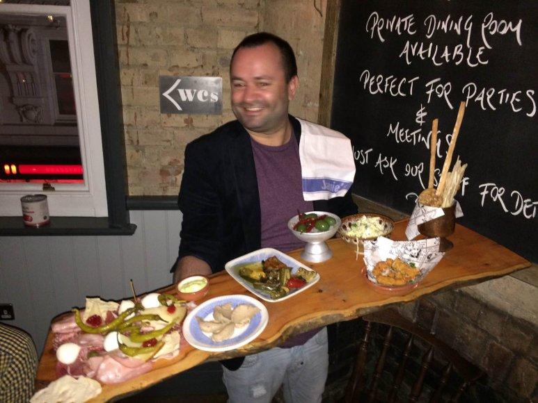 Jamie Oliverio restoranas Londone