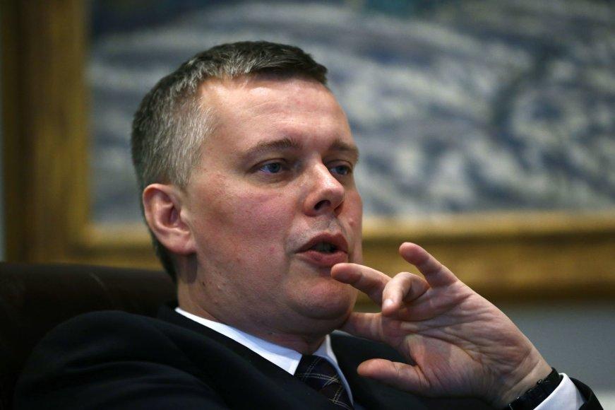 Lenkijos gynybos ministras Tomaszas Siemoniakas