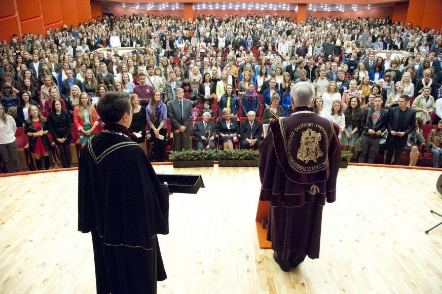 Vytauto Didžiojo universitetas švęs atkūrimo 25-metį. VDU nuotr.