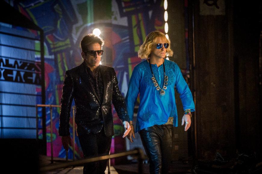"""Benas Stilleris ir Owenas Wilsonas komedijoje """"Zūlanderis 2"""""""