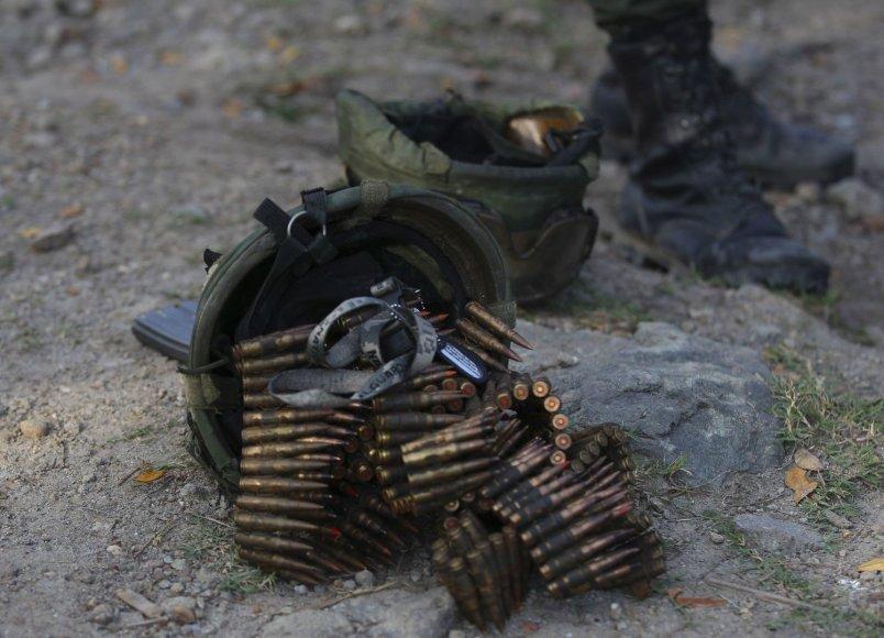 FARC sukilėliai