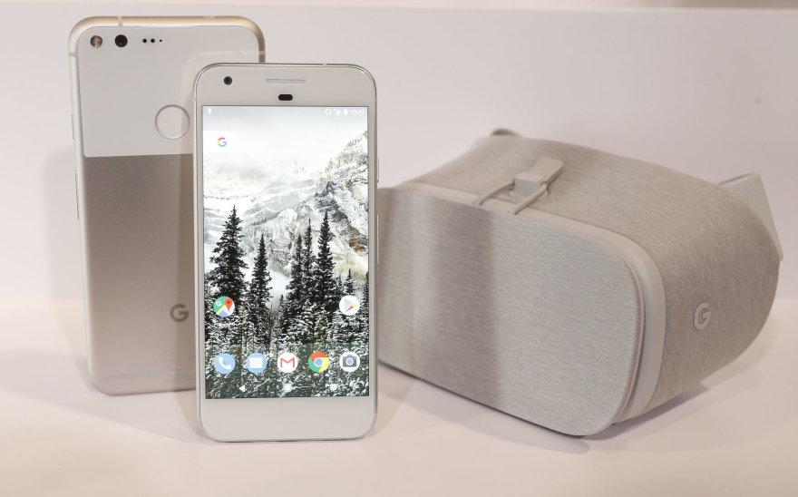 "San Franciske pristatyti naujieji ""Google"" telefonai"