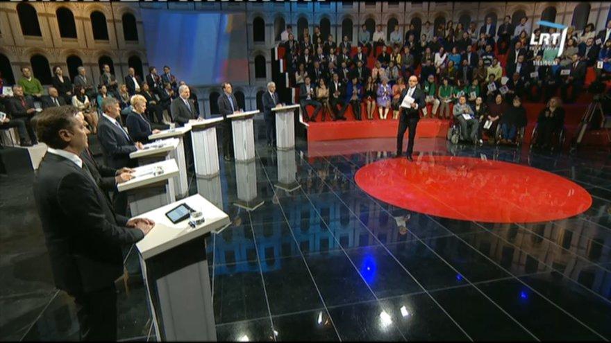 Pirmieji kandidantų į prezidento postą debatai