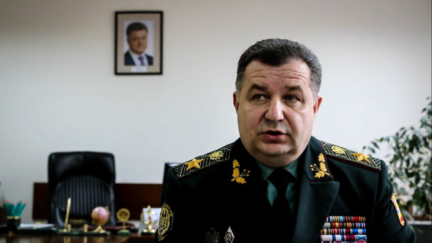 Ukrainos gynybos ministras Stepanas Poltorakas