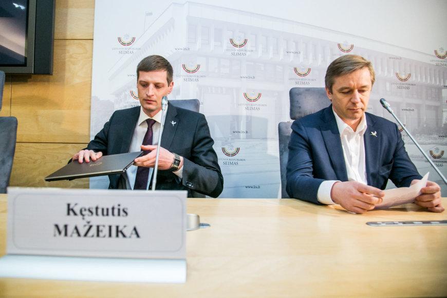 Kęstutis Mažeika, Ramūnas Karbauskis