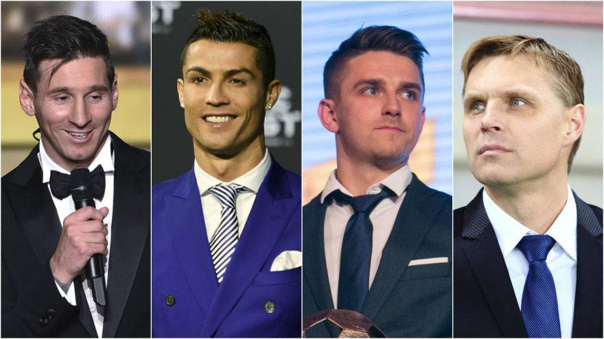 Pirmadienį išrinktas geriausias pasaulio futbolininkas