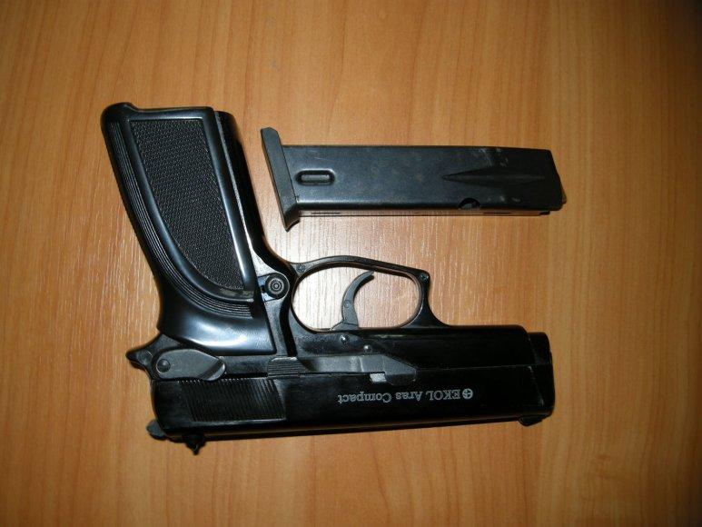 Dujinis ginklas