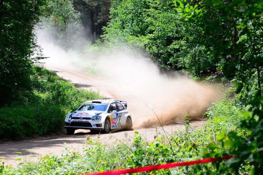 WRC ralio etapas Lietuvoje