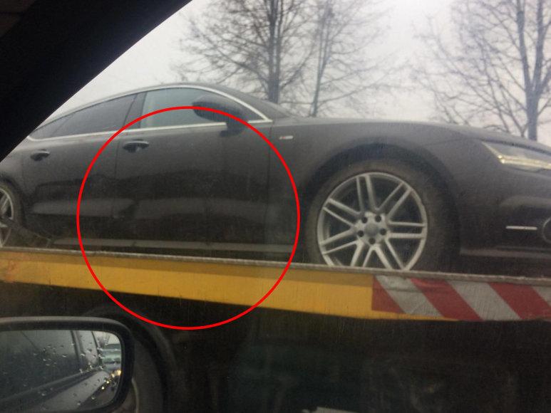 Ievos Strazdauskaitės automobilis