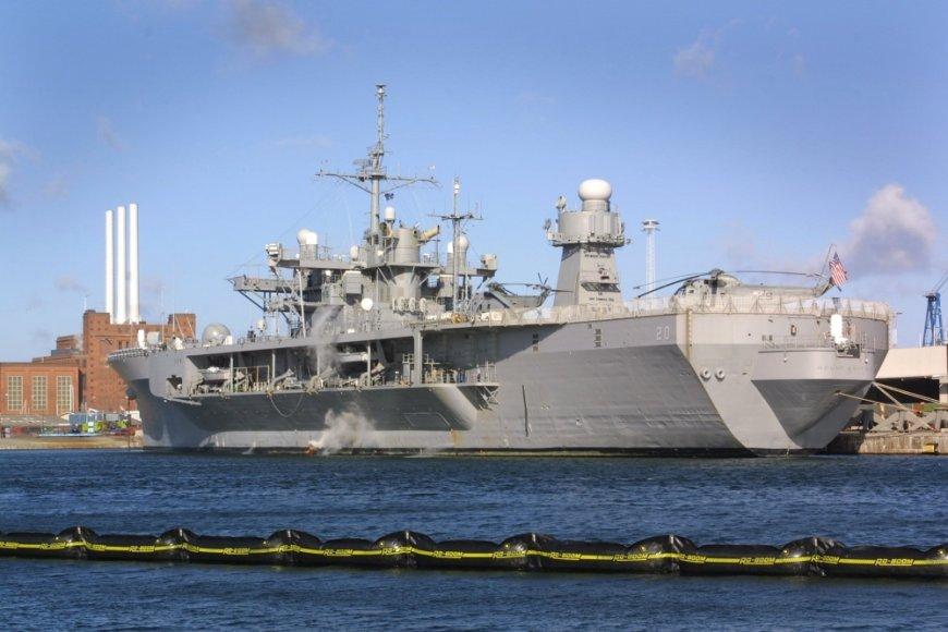 """JAV karo laivyno laivas """"Mount Whitney"""""""
