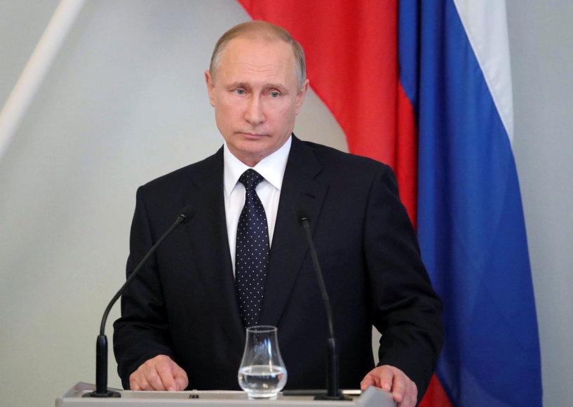 Vladimiras Putinas Suomijoje