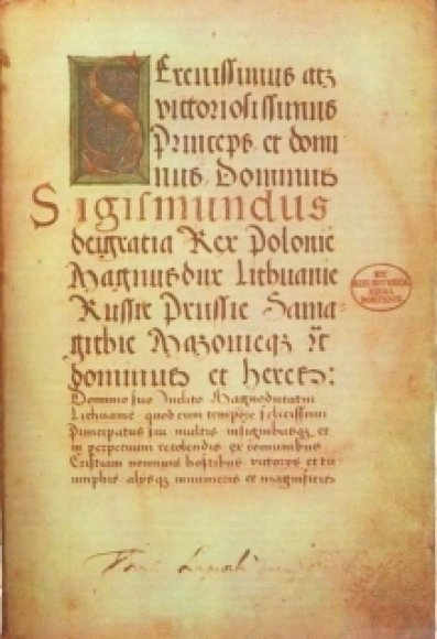 Pirmasis Lietuvos statutas