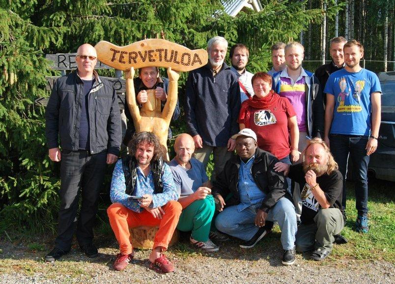 Meškų drožimo čempionatas Suomijoje