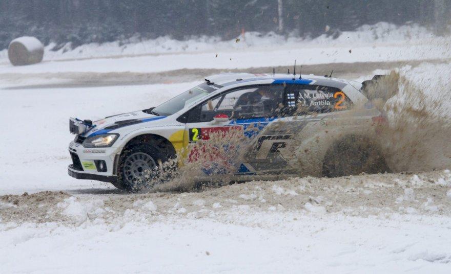 WRC antras etapas Švedijoje